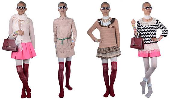 72-годишен дедо стана супер моделка за женска облека