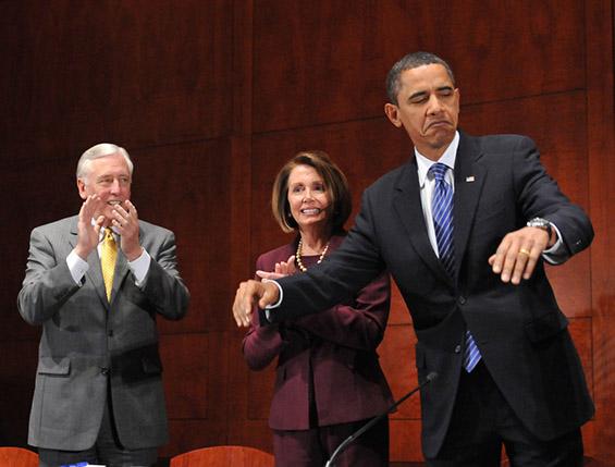 Најсмешните гримаси на Обама