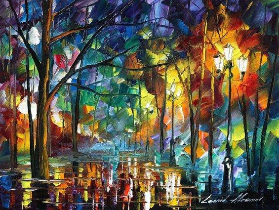 Уметнички дела кои се одликуваат со силни бои и емоции