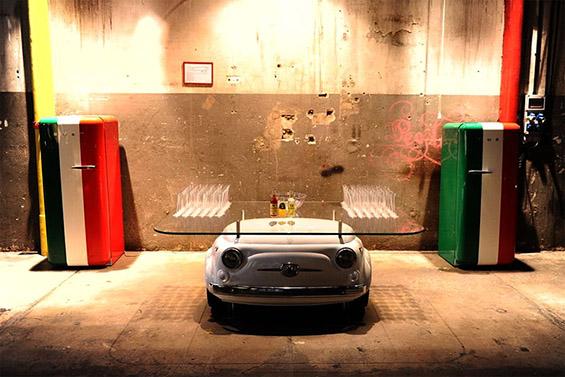 Мебел направен од Фиќо
