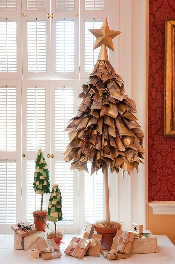 Од што сѐ можете да направите новогодишна елка?