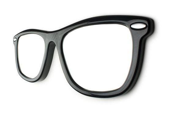 Фанки огледало во облик на џиновски очила за сонце