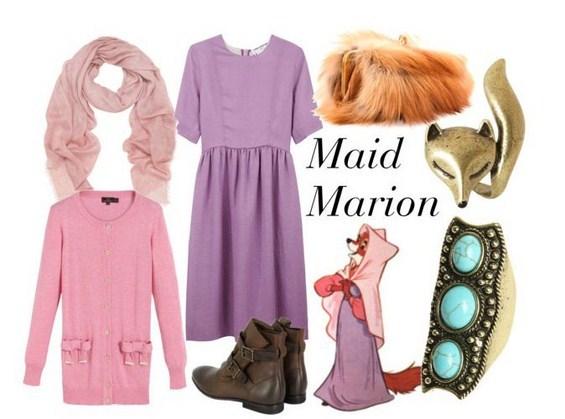 Модни комбинации инспирирани од цртаните филмови