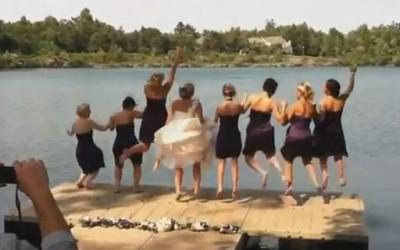 Најсмешните паѓања на свадби во 2012 година