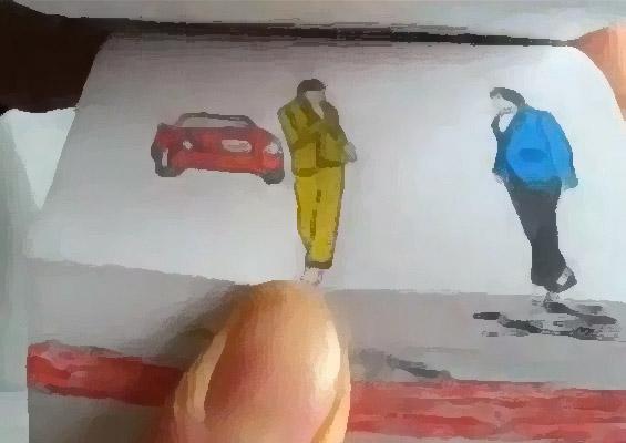 """Безобразно добро скицирана анимација на """"Гангнам стајл"""""""