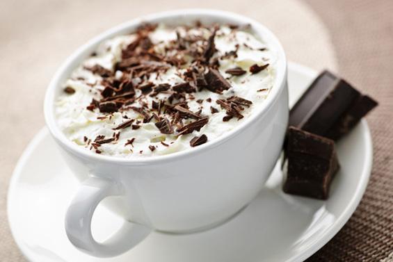 Чоколадно баварско кафе