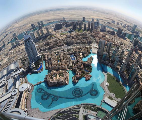 Волшебна панорамска фотографија од Дубаи која ќе ве вџаши