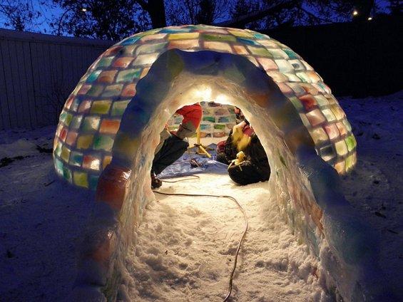 Како да направите разнобојно игло во вашиот двор?