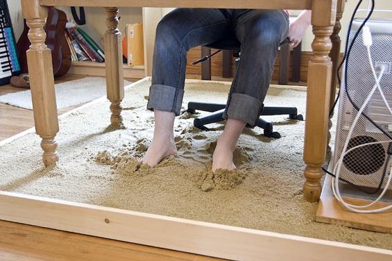 Чувствувајте се како на плажа во вашата канцеларија