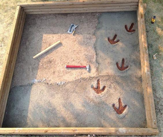 Најкреативното песочно игралиште за деца направено од еден татко