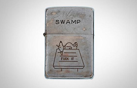 """Сентиментални пораки од војната во Виетнам изгравирани на """"Зипо"""""""
