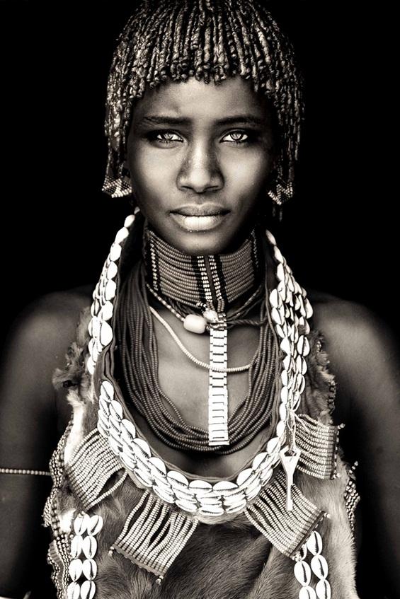 Африка низ прекрасни портрети на локалните жители