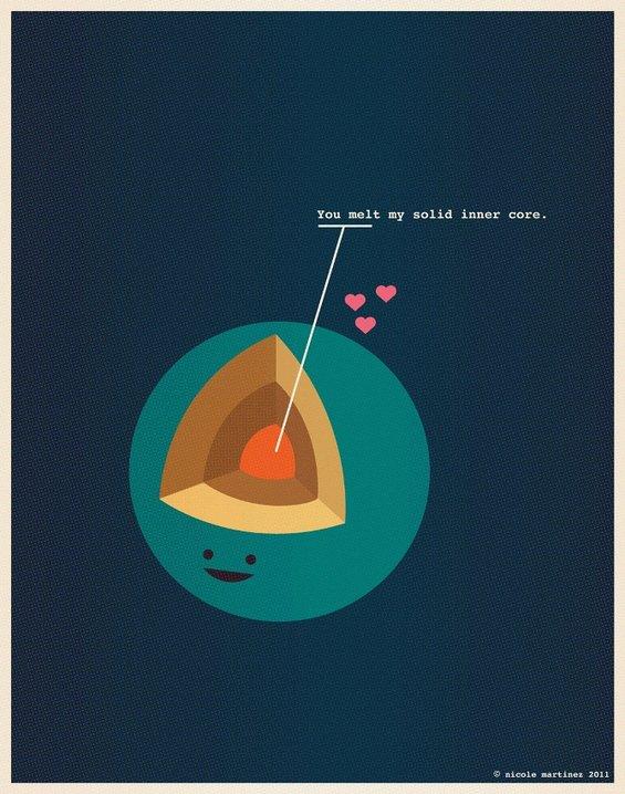 Како гик би ја илустрирал љубовта?