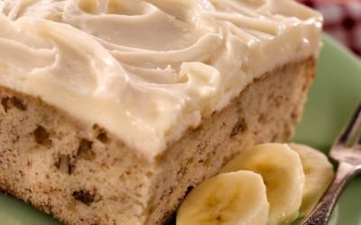 Вкусен колач со банани