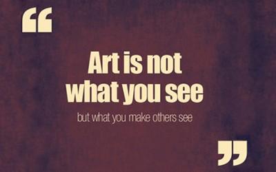 Креативно дизајнирани вистини искажани од големи креативни умови