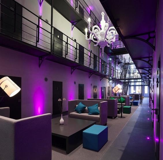 Затвор претворен во лускузен хотел