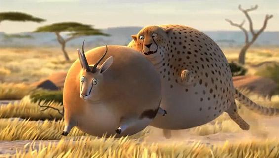 Дивиот животински свет во мнооогу дебела варијанта