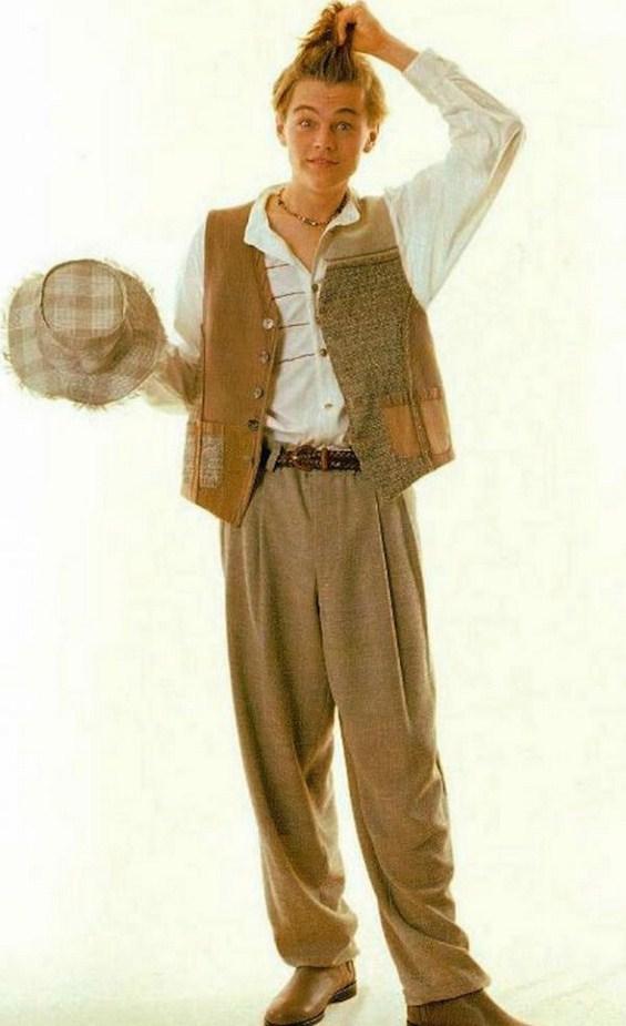 Леонардо Дикаприо во ултрасмешно ретро издание