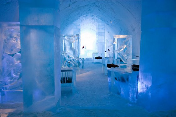 Најголемиот леден хотел во светот