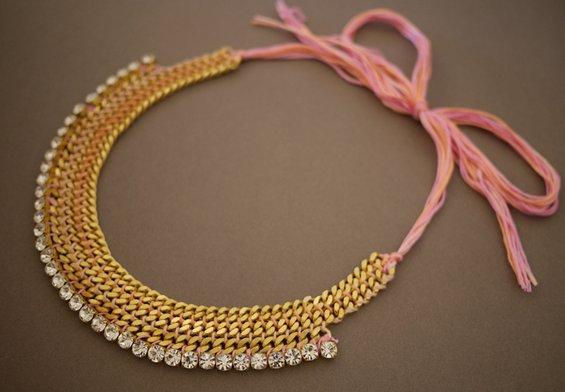 Направете сами: Ново ланче од вашиот стар накит