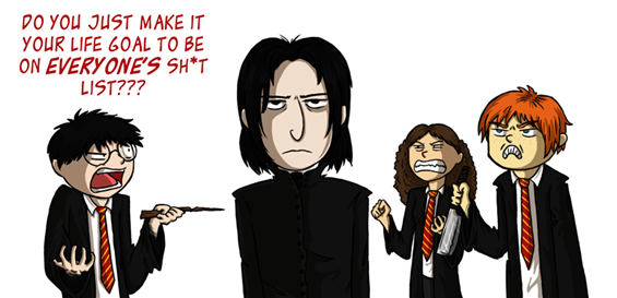"Кул Хари Потер стрип: ""Не суди ја книгата по корицата"""