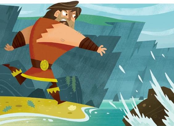 Фин МекКул и неговата мудра жена - легендата зад Џиновскиот гребен