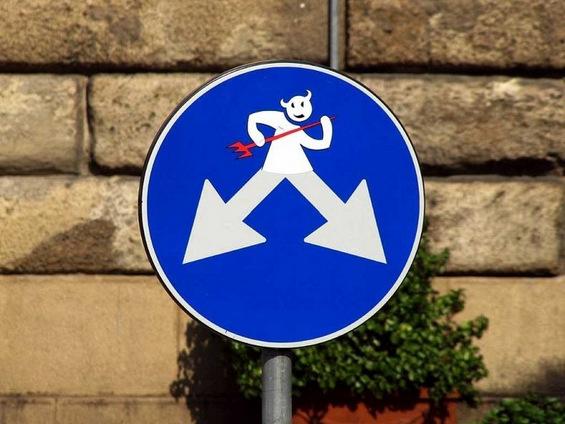 Забавни сообраќајни знаци