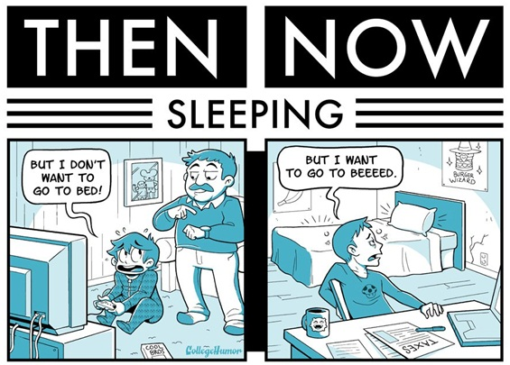 Живот: Некогаш и сега