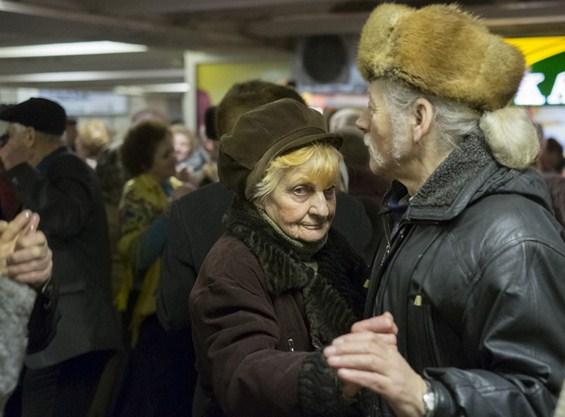 Дискотека за пензионери