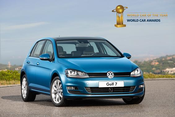 """Голф 7 е """"Светски автомобил на годината"""" за 2013"""
