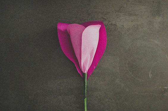 Направете сами: Прекрасен огромен цвет од хартија