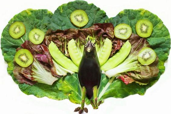 Креативно забавни животинки направени од храна
