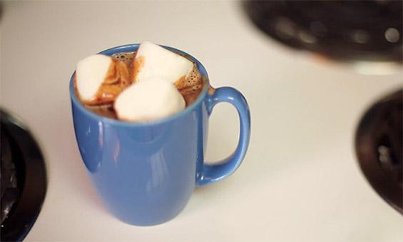 Како да направите топло чоколадо од Нутела?