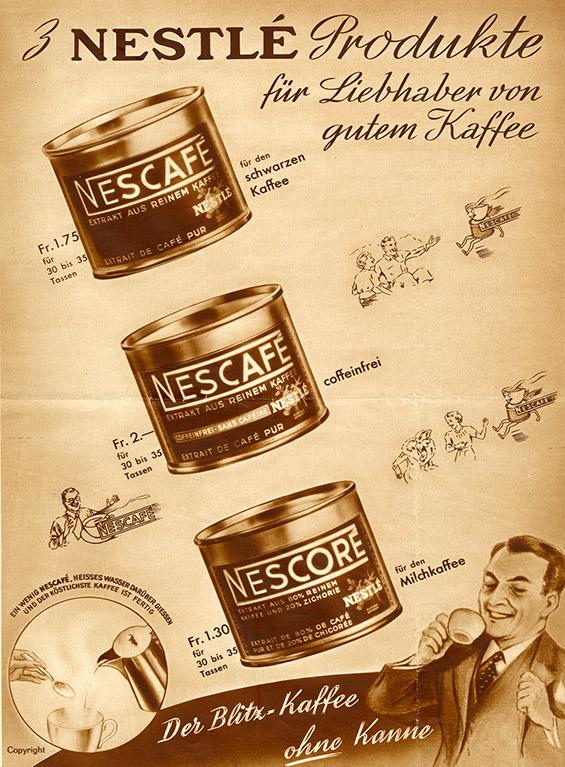NESCAFÉ, првото инстант кафе во светот, го прославува својот 75-ти роденден