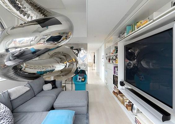 Авантуристички стан со внатрешен тобоган
