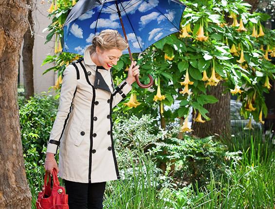 Чадорче кое ќе ве натера да заборавите дека надвор врне