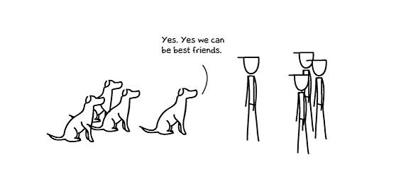 Како кучето станало најдобар пријател на човекот
