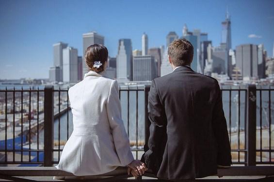 Прекрасни свадбени фотосесии во Њујорк