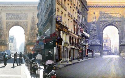 Париз пред 100 години и сега
