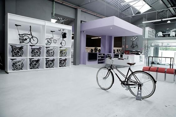 Прекрасна продавница за велосипеди