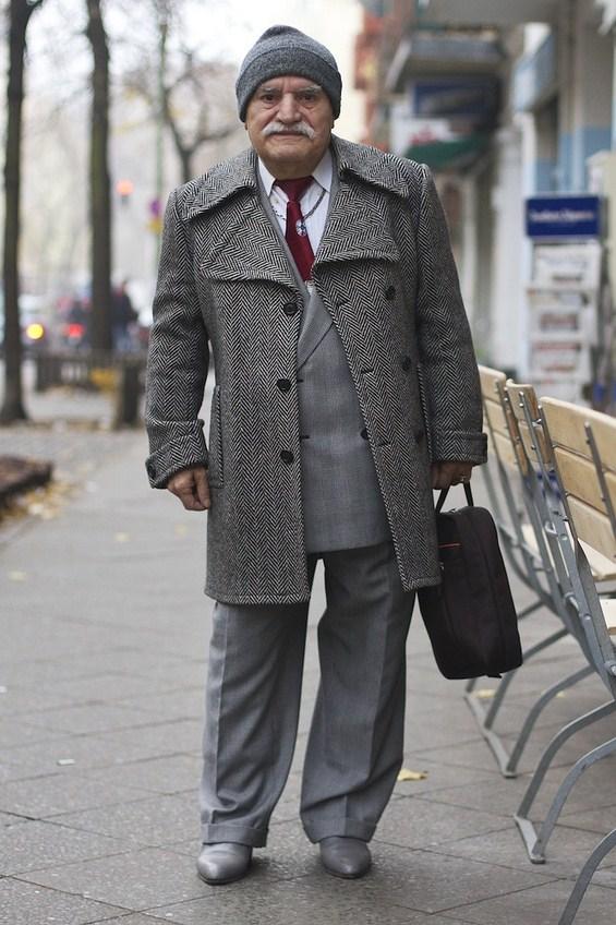 Запознајте го Али, најдобро облечениот дедо во светот