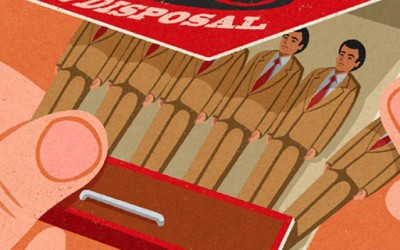 Интересни илустрации инспирирани од старите реклами