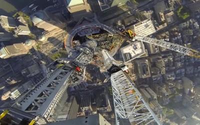 Погледот од врвот на новиот Светски Трговски Центар во Њујорк