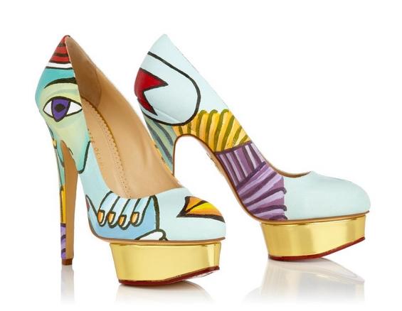 Чевли инспирирани од познатите уметнички дела