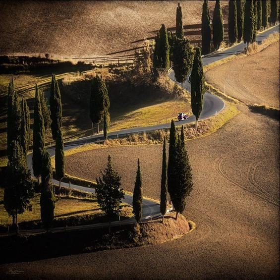 Фантастично патување низ прекрасната Тоскана
