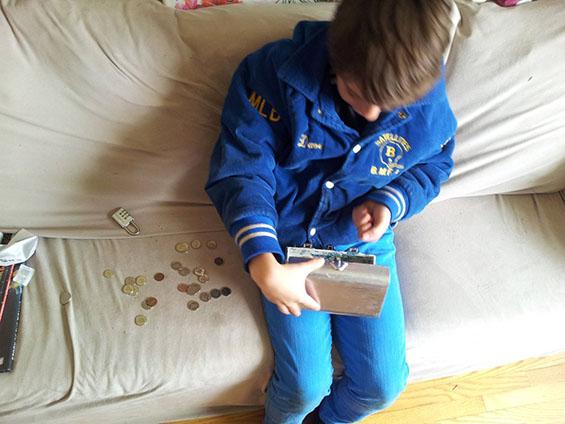 Потрага по скриено богатство како роденденски подарок