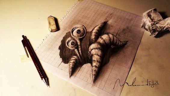 Фантастични 3Д цртежи поради кои нема да им верувате на очите