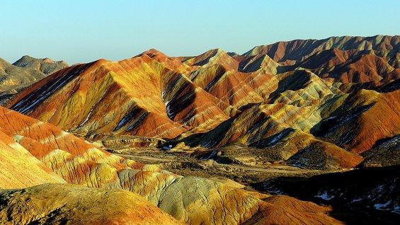 Обоените пејсажи во Кина Данксија