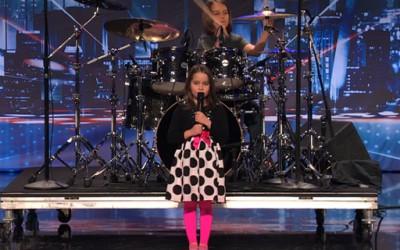Слатко 6-годишно девојче им ги спушти вилиците на членовите на жирито од American's Got Talent