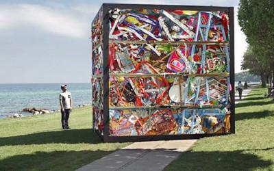 Уникатен споменик од демолиран забавен парк